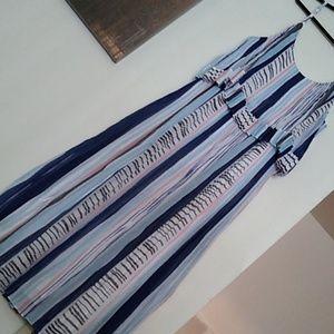 Lane Bryant Dresses - Watercolor Lines Dress